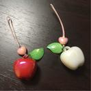 りんごのストラップ  セット
