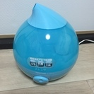 テクノス 超音波式アロマ加湿器 ブルー EL-C301(B)  美...