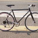 お買い上げ有難うございましたクロスバイク 自転車 ジャンク