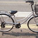 お盆特価! ママチャリ 自転車 ジャンク シルバー