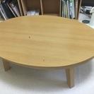 こたつ 楕円形ローテーブル