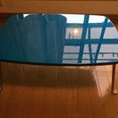 折りたたみテーブル(青)