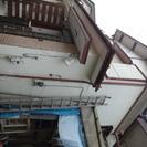 19【無料】業務用2階の屋根までハシゴ(延ばせば2階の屋根まで届き...