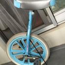トイザらス 一輪車 18インチ ブルー