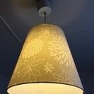値下げ IKEA ペンダントライト ランプ イケア照明 花柄 北欧...