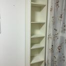 シンプル本棚ホワイト