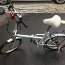 折りたたみ自転車、錆び多い 500円