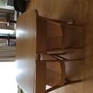 ベンチ付きダイニングテーブル