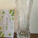 ★超美品!クリスタルの大花瓶