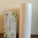 ★マルチに使える!丸筒の白花器