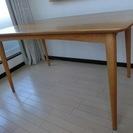 IDCで購入したダイニングテーブル(椅子はなし)