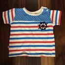 (取引終了)マリンなTシャツ 95cm