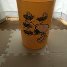 ゴミ箱 スヌーピー 黄色 イエロー