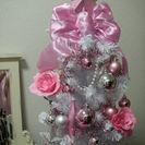 ★クリスマスツリー★高さ 約150cm、飾りも全て含みます。ツリー...