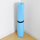 ヨガマット ブルー 173×61×6mm (使用2~3のみの美品)