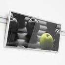 アルミ製メタルフォトパネル 約50×20cm