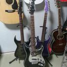 SELDERのギター ミラーピックガード