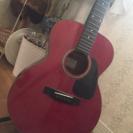赤色 アコースティックギター