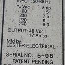 中古 電動ゴルフカート用 24V バッテリ-充電器