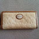 (お値下げしました)コーチエナメル財布