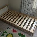 IKEA 子供用ベッド、すのこ、マットレス 3点セット