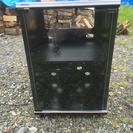 エーディオラック ホビー収納ケース ガラス扉付き 収納棚