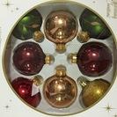 クリスマス 飾り オーナメント ボール 8個セット