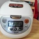 マイコン式炊飯器 象印 2015年製 5.5合【保証書つき】
