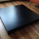 お洒落だけれど重すぎるローテーブルの「天板」