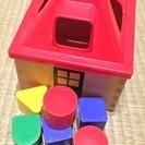 【知育玩具】お家型ブロック☆