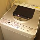SHARP洗濯機 AGイオンコート乾燥機能付き