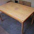 食卓のテーブル(カリモク家具)