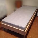 シングルベッド 無料で差し上げます