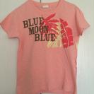 Blue moon blue Tシャツ