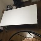 白の事務用机 180×90 高さ70 美品