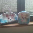 チワワ(クー?)のバッグ2つセット。ポンポネット
