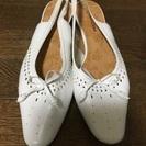 【25.5】白い靴