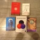 村上春樹の本 5冊 英語版