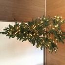 ライト付き クリスマスツリー
