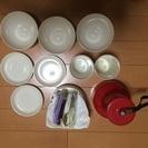 ピクニック用  お皿、コップ、フォーク、栓抜き、カン切り、ナイフセット