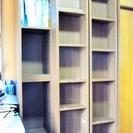 木製大型本棚です。スライド棚が3ついています。 引取りが可能な方だ...