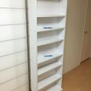 【無料】白い本棚