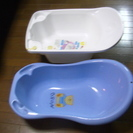 早い者勝ち激安 ベビーバス 2つ 新生児 赤ちゃん シンク 沐浴