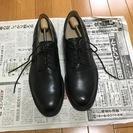 無印良品:革靴(ビジネスシューズ)プレーントゥ