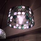 ステンドガラスペンダント照明