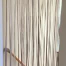 紐暖簾 透け感があり、オリエンタルな感じになります!