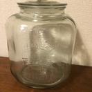 【ライスストッカー】ガラス製米びつ