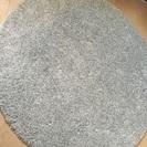 円形ラグ ウイルトン織り