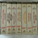 値下げしました!イギリス版ビデオテープ 007シリーズ9本