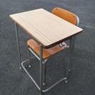学校机椅子セット